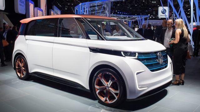 Pariisin konseptikattaus Volkswagen Budd-e