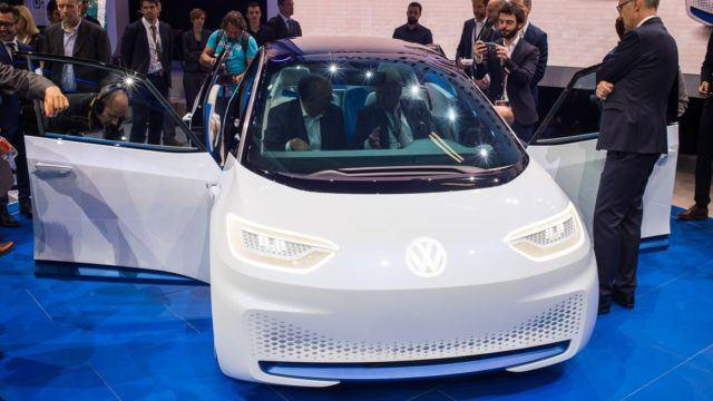 Pariisin konseptikattaus Volkswagen I.D.