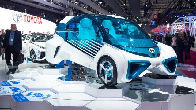 Pariisin konseptikattaus Toyota FCV Plus