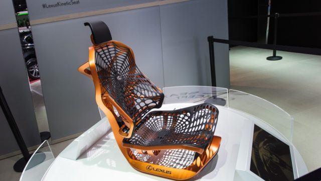 Pariisin konseptikattaus Lexus Kinetic Seat