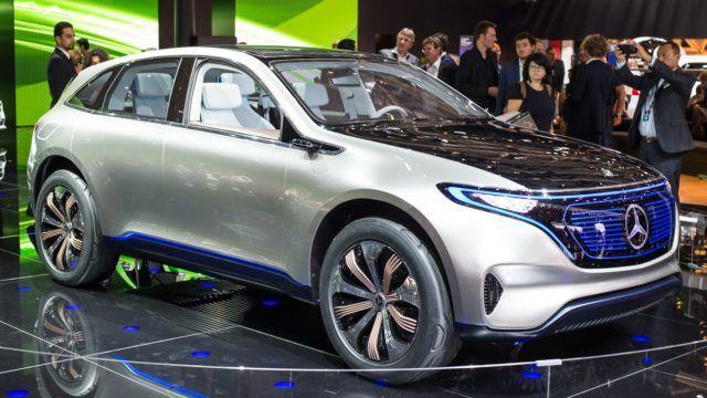 Pariisin konseptikattaus Mercedes-Benz Generation EQ