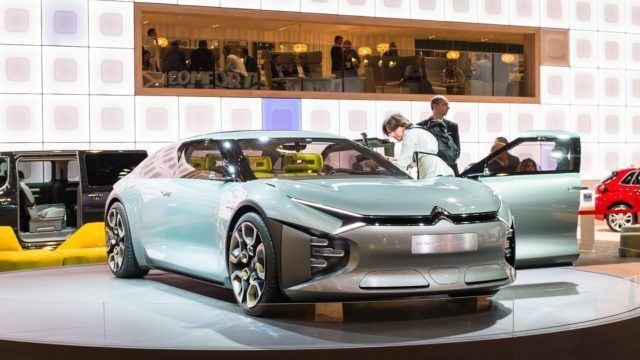 Pariisin konseptikattaus Citroën CXperience