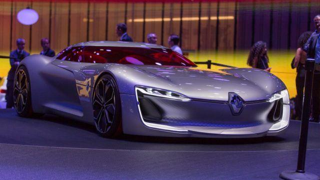 Pariisin konseptikattaus Renault Trezor