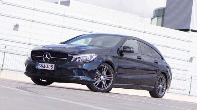 Koeajo: Mercedes-Benz CLA Shooting Brake – kromilla kuntoon?