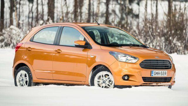 Koeajo: käyttöauto kaupunkiin – Ford Ka+