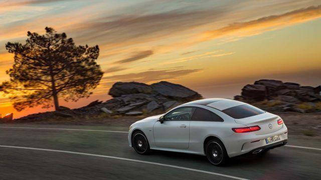 Mercedes-Benz E-sarjan Coupe