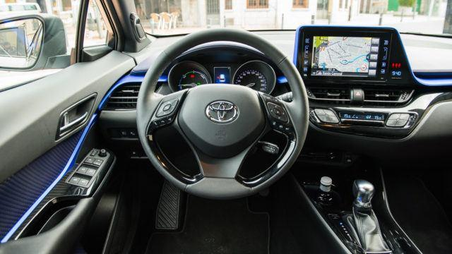 Toyota C-HR koeajo