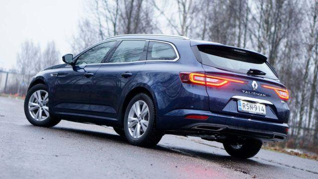 Koeajo: yhden turbon talous – Renault Talisman Sport Tourer