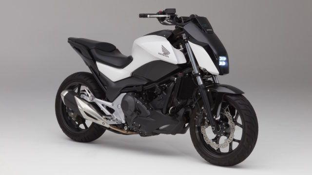 Konseptipyörä kuin koira – Honda Riding Assist ei kaadu eikä hylkää