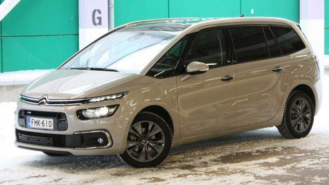 Koeajo: pehmeämmät huulet – Citroën Grand C4 Picasso