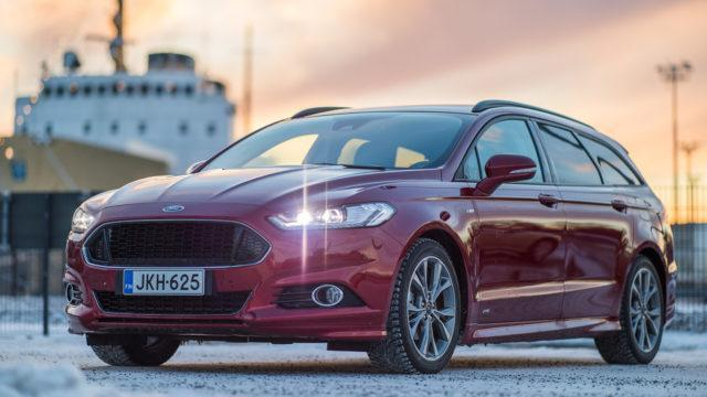 Koeajo: Kärsimystä kauneuden vuoksi – Ford Mondeo ST-Line Wagon