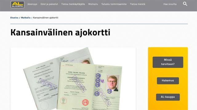 Kansainvälinen ajokortti