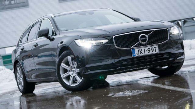 Koeajo: selkeää säästöä – Volvo V90 D3