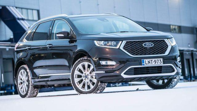 Koeajo: premiumin reunalla – Ford Edge Vignale
