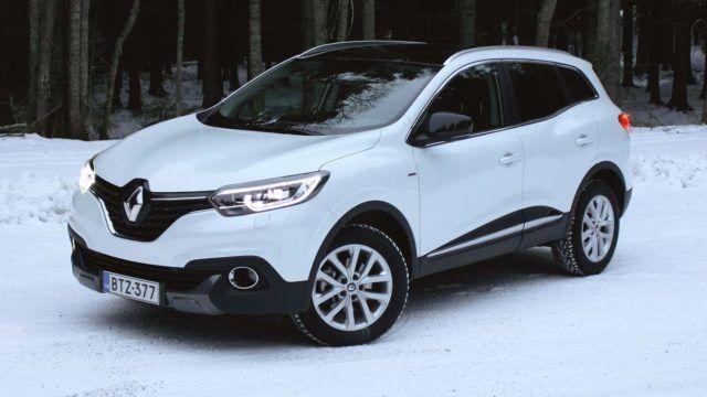 Koeajo: sisäistä sushia – Renault Kadjar