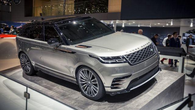 Range Rover Velar >> Range Rover Velar Tyylikas Paalta Hammastyttava Sisalta