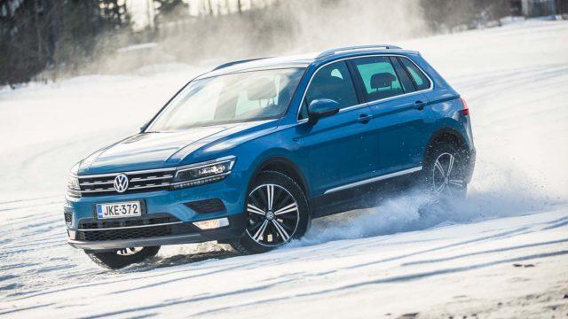 Koeajo: kova keskimmäinen – Volkswagen Tiguan