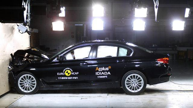 BMW 5-sarja Euro NCAP 2017 G30