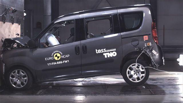 Fiat Doblò Combi Euro NCAP 2017