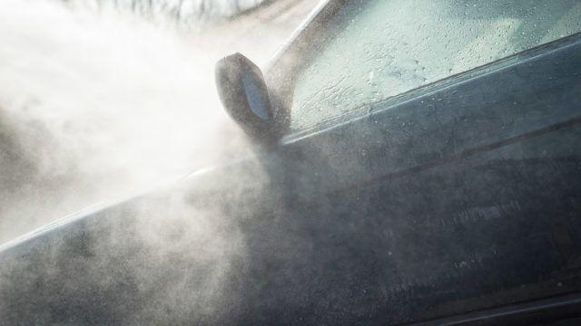 Pesuohjeet autolle
