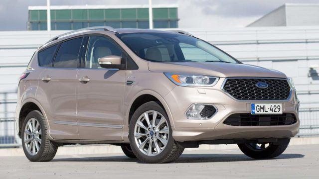 Koeajo: herkuilla ryyditetty – Ford Kuga Vignale
