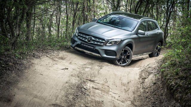 Elämäntapamaasturi mukavuusalueen ulkopuolella: veimme Mercedes-Benz GLA:n maastoradalle