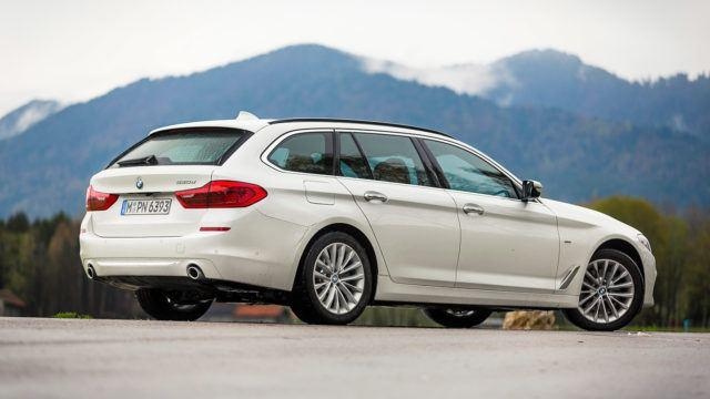 Koeajo: BMW 520d A Touring – perä kunnossa