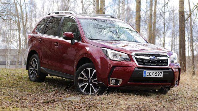 Koeajo: vannoutuneille faneille – Subaru Forester