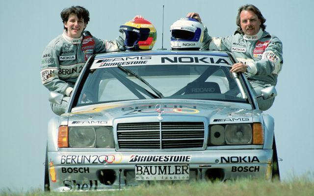 AMG 50 vuotta 190 E DTM Rosberg