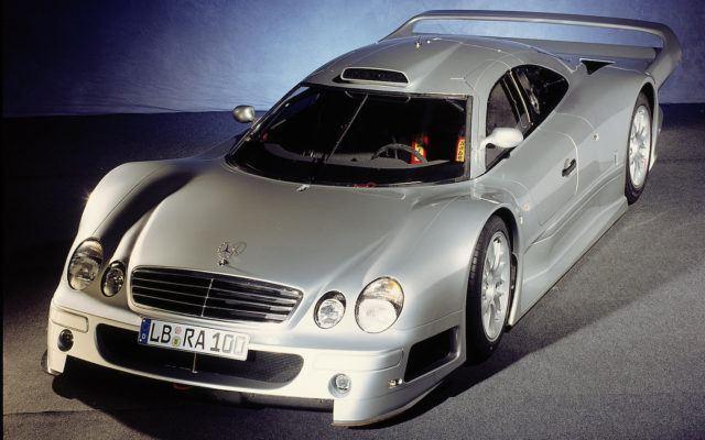 AMG 50 vuotta CLK GTR