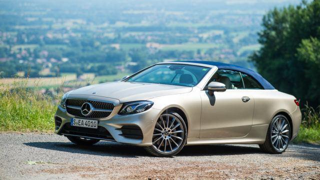 Koeajo: Olemisen ihastuttava keveys –Mercedes-Benz E 300 A Cabriolet