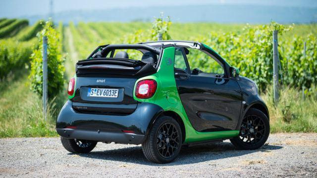 Koeajo: Smart Fortwo Cabrio Electric Drive – kuvitelmista keskustoihin