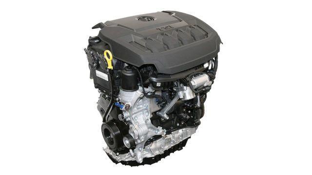 Volkswagen B-sykli Budack EA888