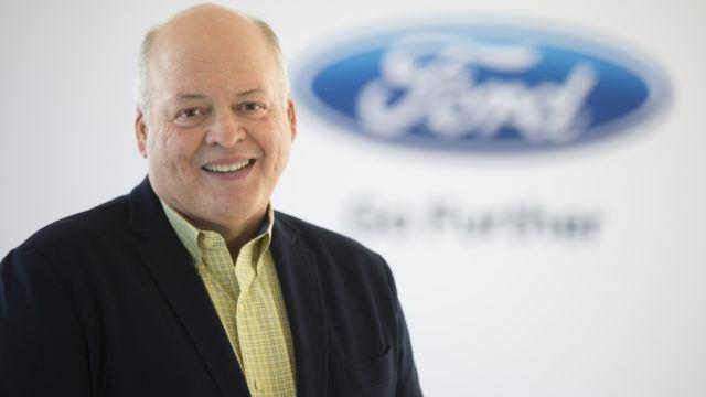 Ford johtajistomylläkkä Hackett
