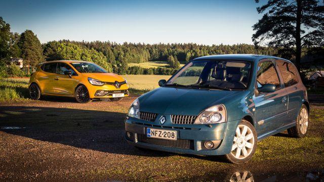Sukupolvet vastakkain: onko uusi Renault Clio RS TCe 200 vanhaa hauskempi?