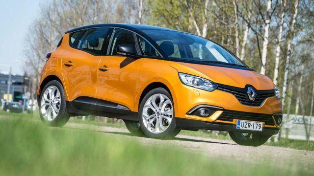 Koeajo: tyyli tilan tilalle – Renault Scénic