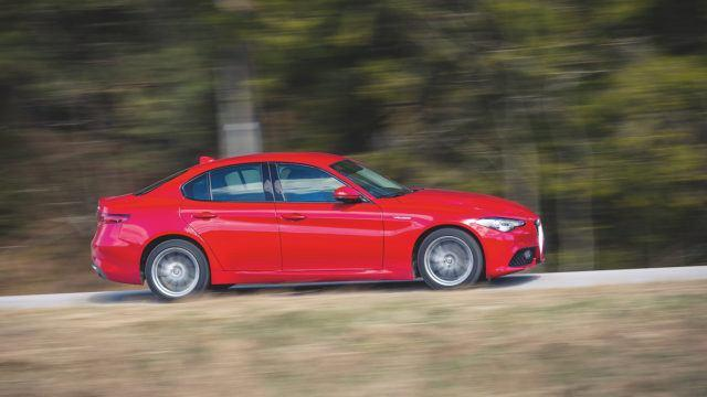 parivertailu Alfa Romeo Giulia BMW 3-sarja