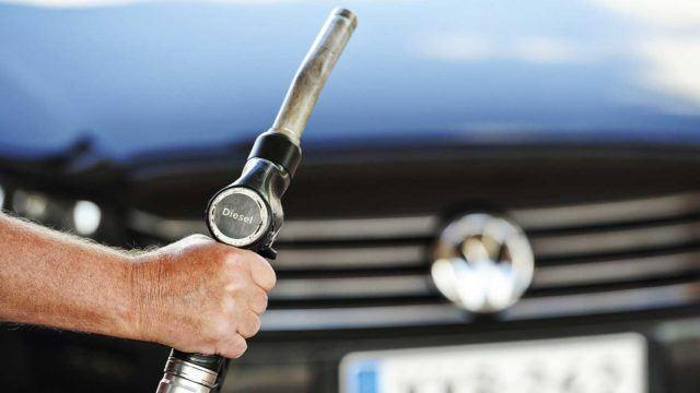 Dieselsoppa kiehuu Saksassa