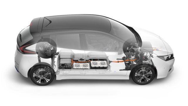 Uusi Nissan Leaf toinen sukupolvi