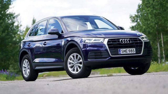 Koeajo: synninpäästö perusvarustelulle – Audi Q5