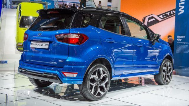Ford EcoSport facelift