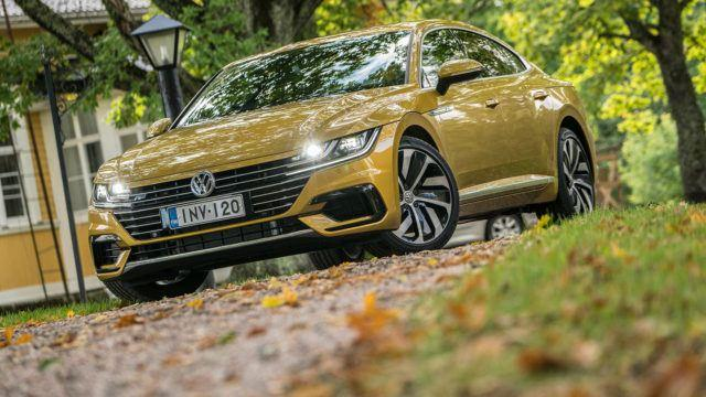 Koeajo: Perheen näyttävin – Volkswagen Arteon R-Line