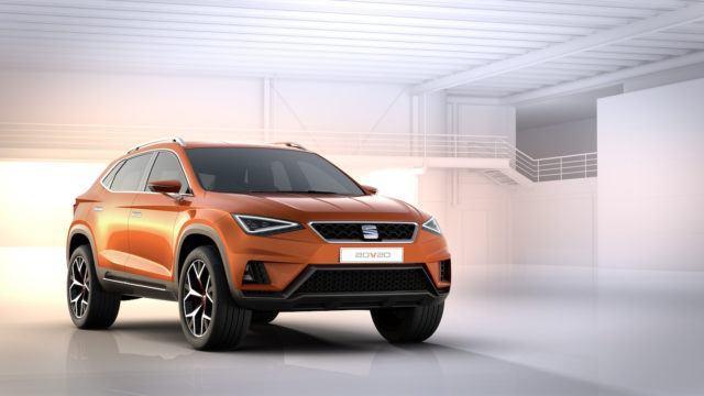 Seat Tarraco esiintyi valmistajan vihjeissä jo 2015 konseptiauto 20V20:n muodossa.