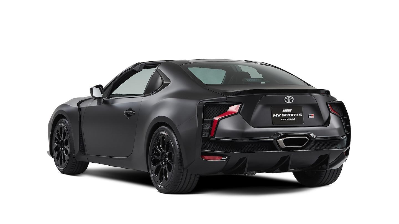 Toyota Sports Car >> Toyota Gt86 Kohtaa Hybridisportin Mattamusta Konseptivihje