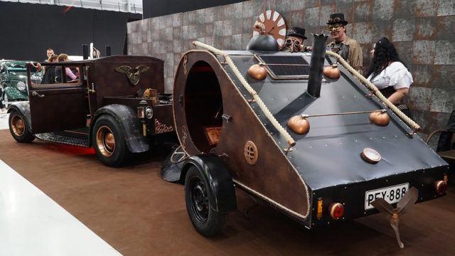 Ford A Model 1929 Steampunk