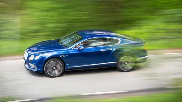 Päivän kuva: saisiko olla Bentley, sir?