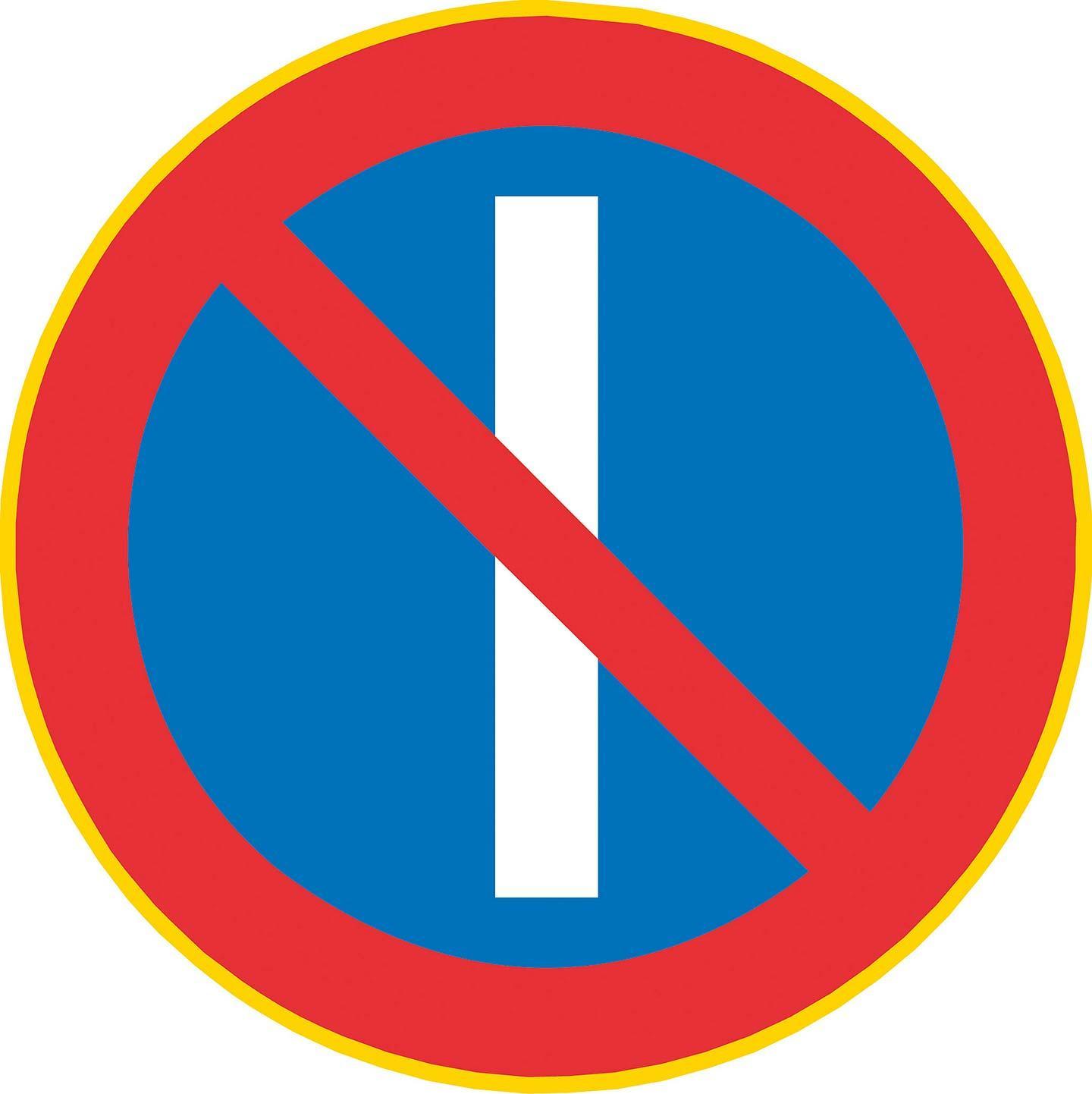 pysäköinti kielto merkit