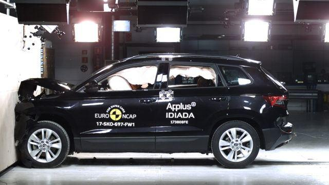 Škoda Karoq Euro NCAP