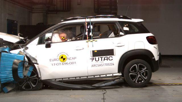 Citroën C3 Aircross Euro NCAP