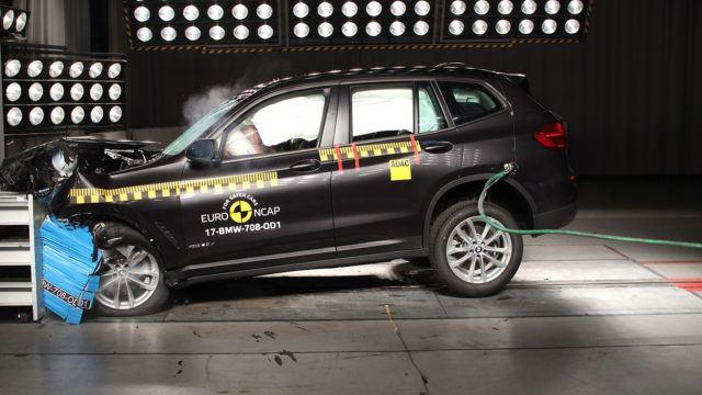 Euro NCAP BMW X3